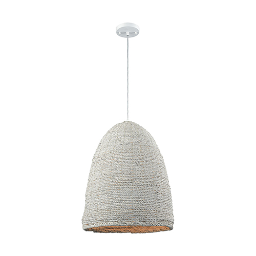 Dimond A Loom In Essence White One-Light Pendant