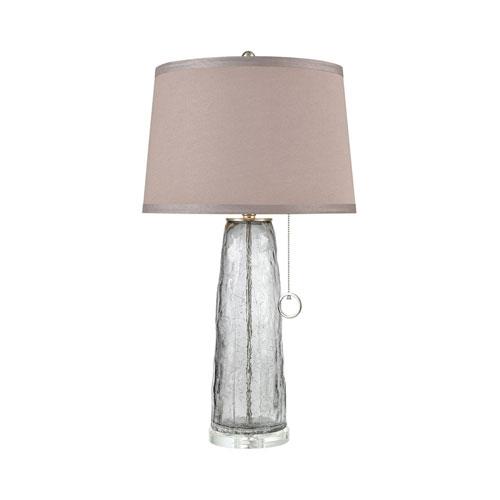 Katajanokka Grey Ombre Crackle 31-Inch One-Light Table Lamp