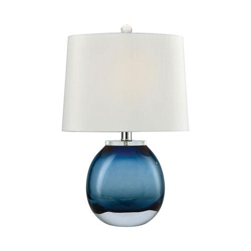 Playa Linda Blue 19-Inch One-Light Table Lamp