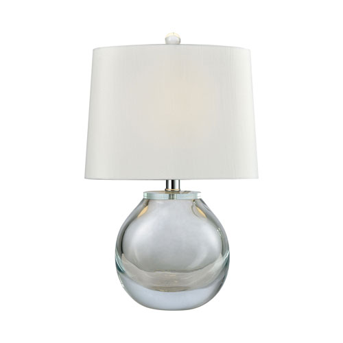 Playa Linda Blown Glass 19-Inch One-Light Table Lamp