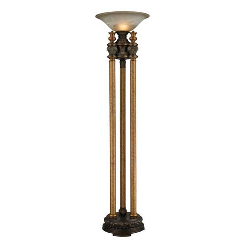 Dimond Athena Athena Bronze One Light Uplight Torchiere