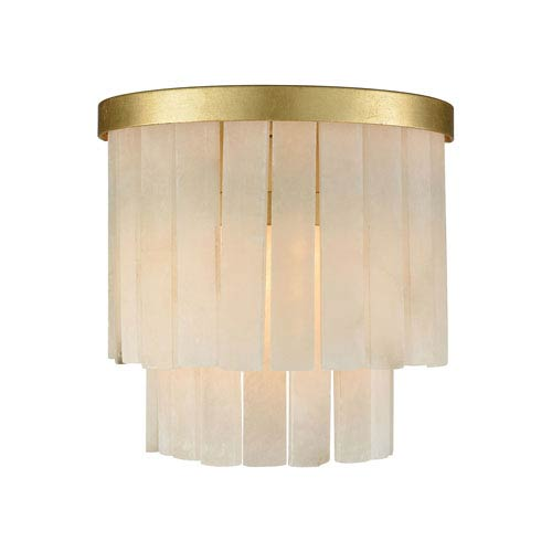 Orchestra Gold Leaf One-Light Wall Sconce