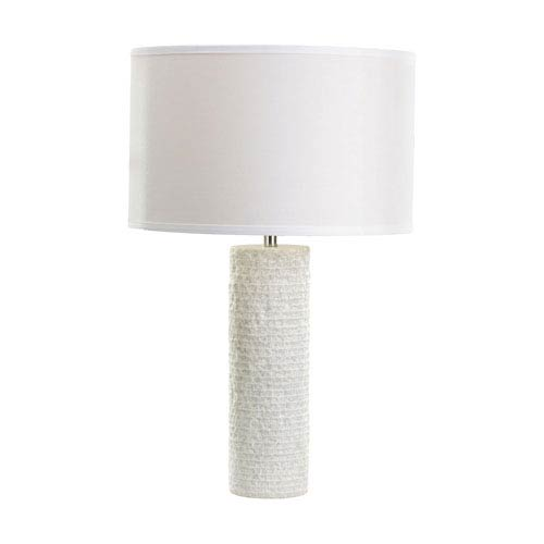 Dimond Marble White Marble One Light 24 Inch Table Lamp
