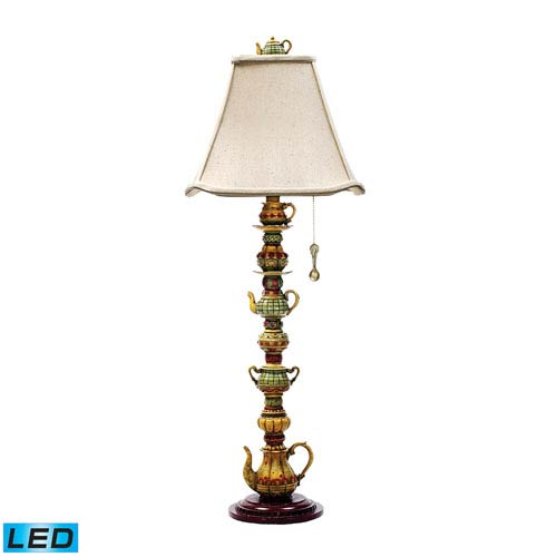 Dimond Tea Service Candlestick Burwell One Light LED Table Lamp