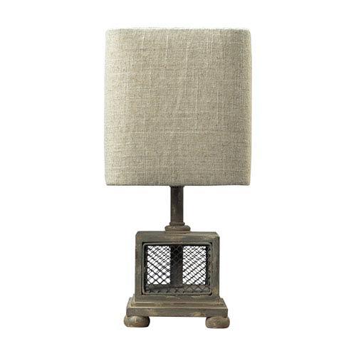 Delambre Montauk Grey One Light Mini Lamp