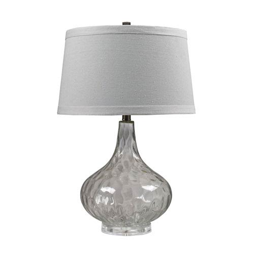 Dimond Clear 24-Inch Water Glass Table Lamp