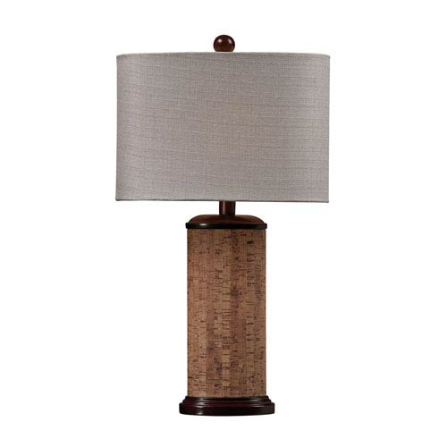 Dimond Natural Cork 21-Inch Cork Table Lamp