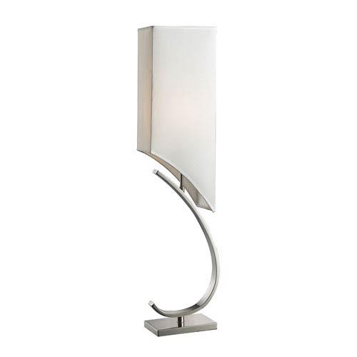 Appleton Polished Nickel Table Lamp