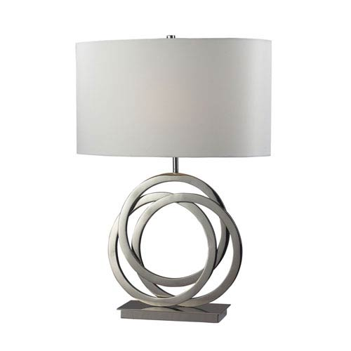 Dimond Trinity Polished Nickel Table Lamp
