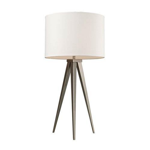 Dimond Salford Satin Nickel Table Lamp