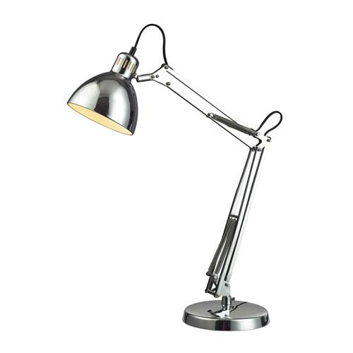 Ingelside Chrome Desk Lamp
