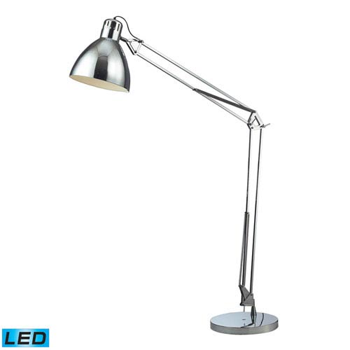 Dimond Ingelside Chrome One Light LED Floor Lamp