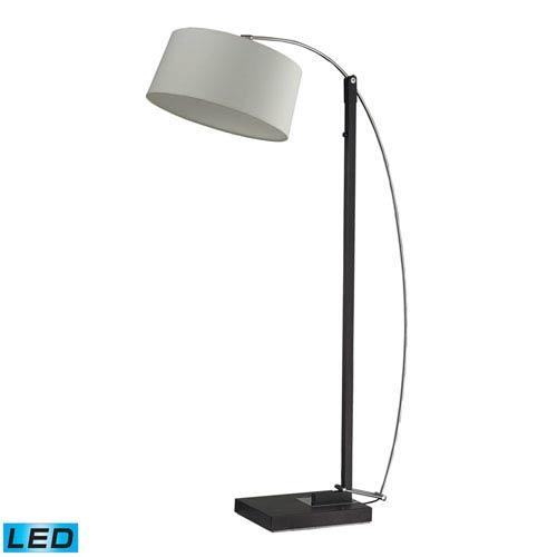 Dimond Logan Square Dark Brown One Light LED Floor Lamp