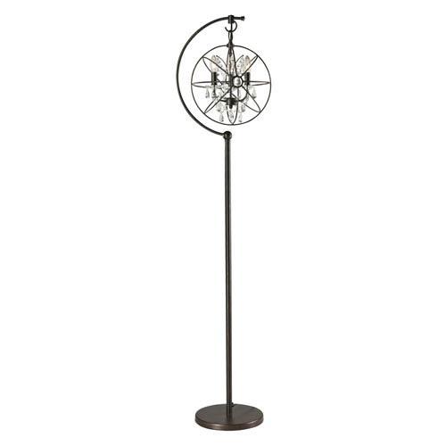 Dimond Restoration Globe Oil Rubbed Bronze Three Light Floor Lamp