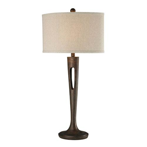 Martcliff Burnished Bronze LED Table Lamp