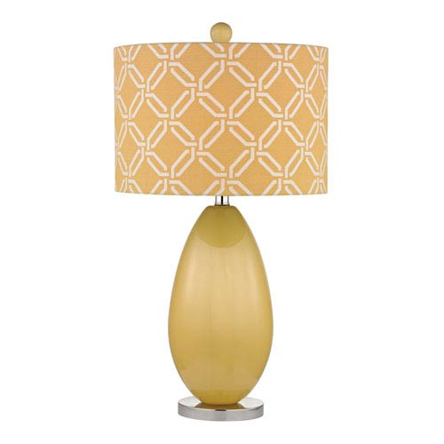 Dimond Sevenoakes Sunshine Yellow One Light Table Lamp