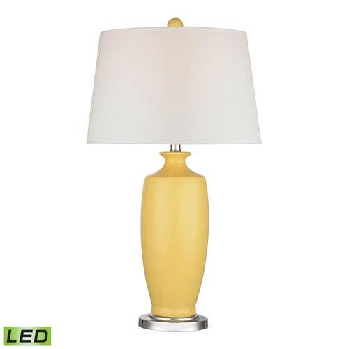Dimond Halisham Sunshine Yellow One Light LED Table Lamp