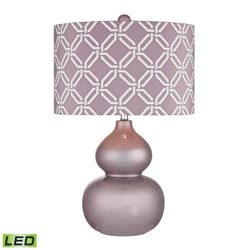 Ivybridge Lilac Luster One Light LED Table Lamp