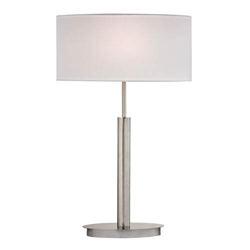 Port Elizabeth Satin Nickel One Light Table Lamp