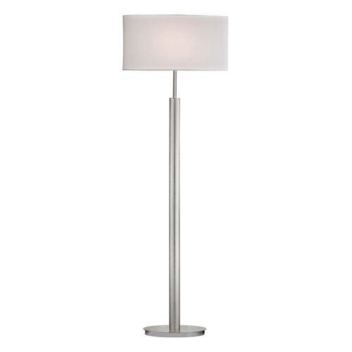Dimond Port Elizabeth Satin Nickel One Light Floor Lamp
