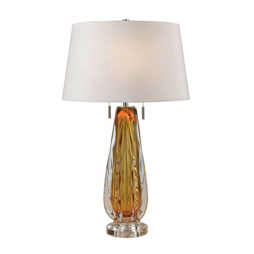 Modena Amber 26-Inch LED Table Lamp