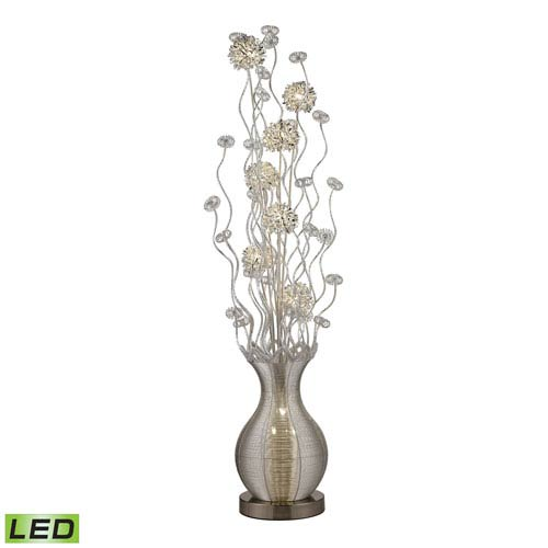 Uniontown Silver 10-Light Floor Lamp