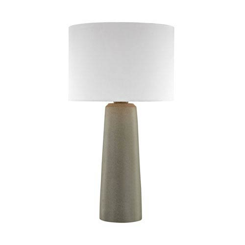 Eilat Concrete One-Light Outdoor Table Lamp