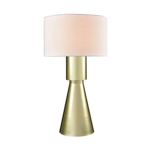 Paris Gold Plate One-Light Table Lamp