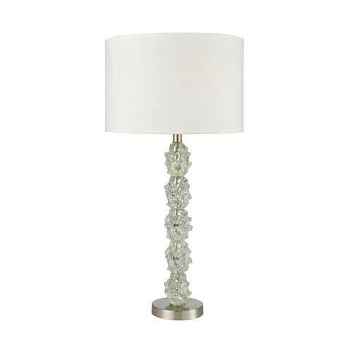 Dimond Helsinki Ocean Mint Satin Nickel One-Light Table Lamp