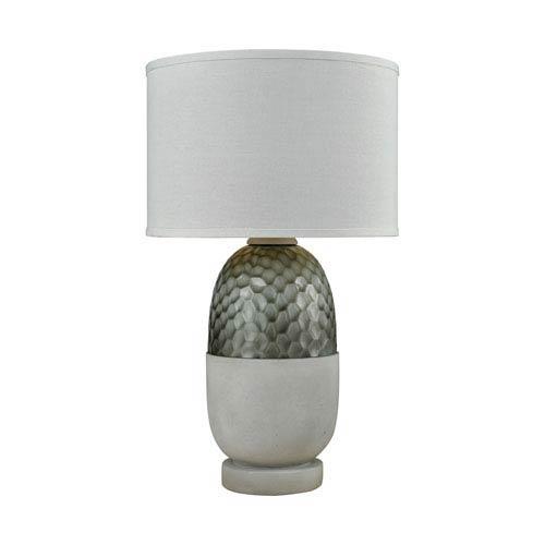 Dimond Reykjavík Polished Concrete Grey One-Light Outdoor Table Lamp