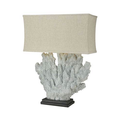 Sandy Neck Distressed Grey Coral One-Light Outdoor Table Lamp