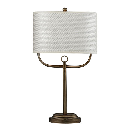 Dimond HGTV HOME Antique Brass Table Lamp