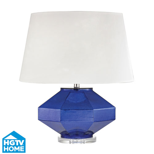 Dimond HGTV HOME Guild Mercury Sapphire One Light Table Lamp