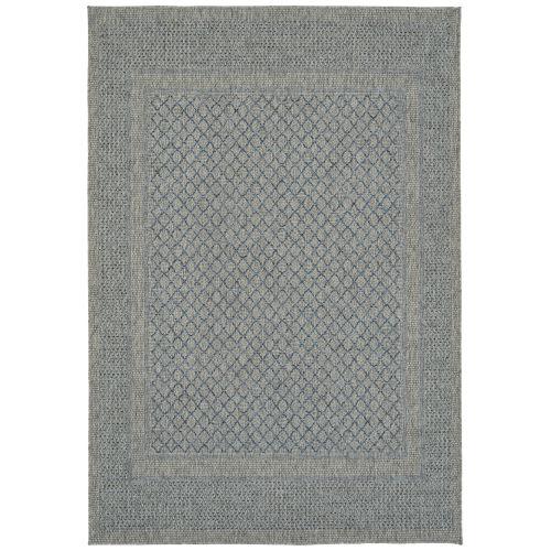Bacalar Blue Indoor/Outdoor Rug