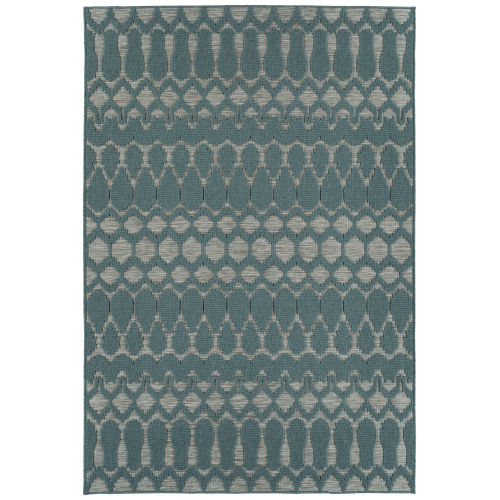 Cove Teal Rectangular: 7 Ft.10 In. x 10 Ft. Rug