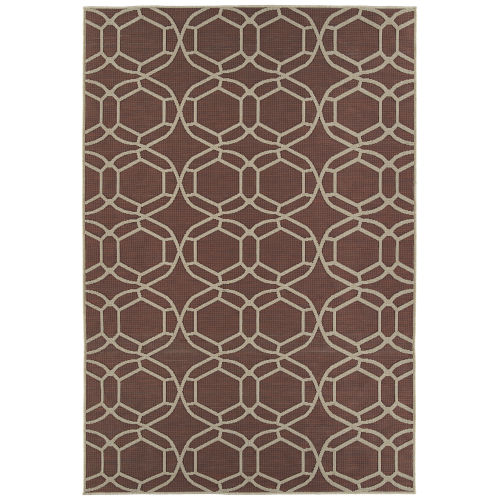 Cove Red Rectangular: 7 Ft.10 In. x 10 Ft. Rug