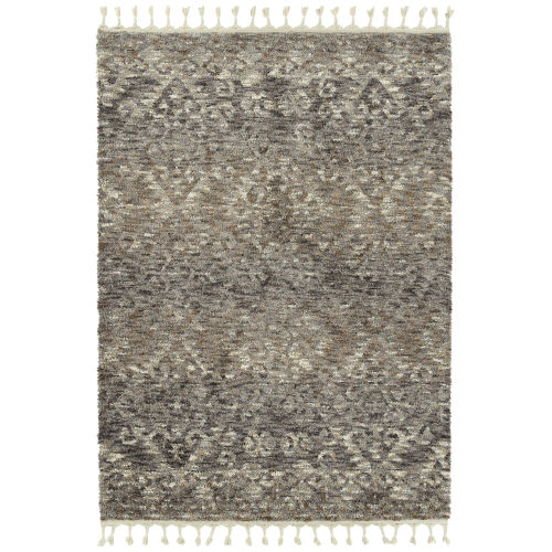 Duna Silver and Brown 7 Ft.10 In. x 10 Ft. Area Rug