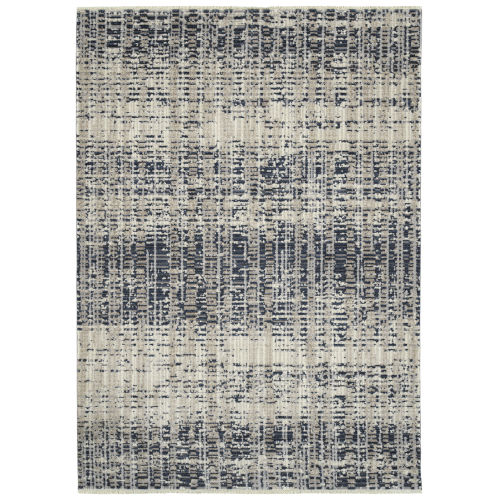 Eddison Navy and Ivory 7 Ft.10 In. x 10 Ft. Area Rug