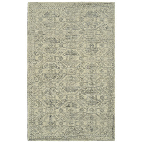 Effete Sand, Charcoal and Gray 5 Ft. 6 In. x 8 Ft. 6 In. Area Rug