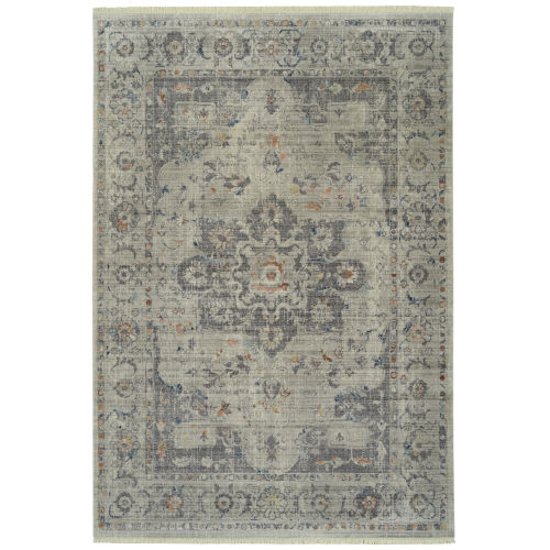 Rila Silver Rectangular: 2 Ft. x 3 Ft. Rug
