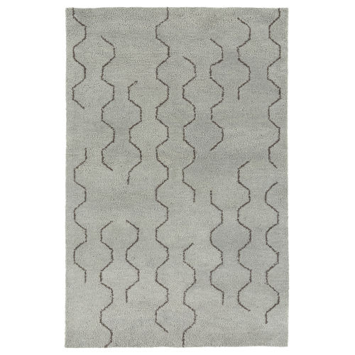 Micha Silver and Brown 5 Ft. x 7 Ft. 9 In. Area Rug