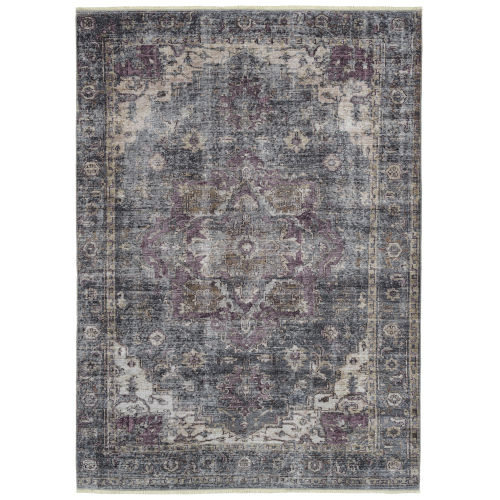 Praia Charcoal Rectangular: 9 Ft.3 In. x 11 Ft.6 Rug