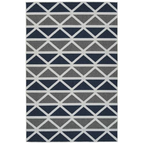 Puerto Gray Pattern Indoor/Outdoor Rug