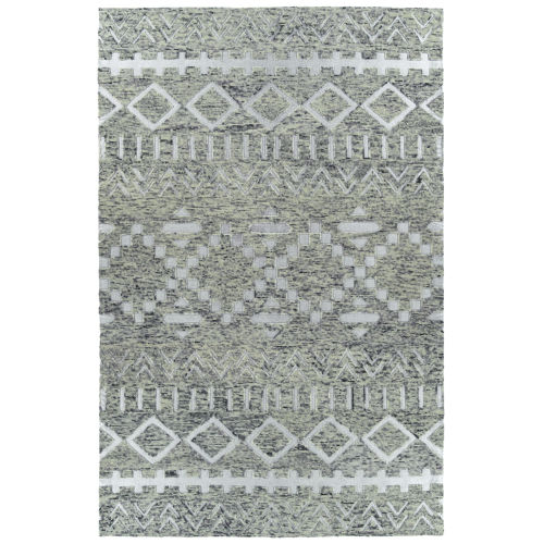 Radiance Gray and Silver 5 Ft. x 7 Ft. 9 In. Area Rug