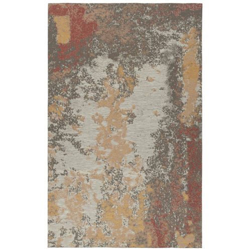 Santiago Brown and Taupe Indoor/Outdoor Rug