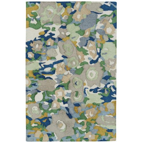 Flora Fantasies Multicolor Indoor/Outdoor Rug