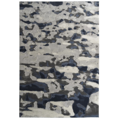 Global Altitude Denim and Gray 7 Ft.10 In. x 10 Ft. Area Rug