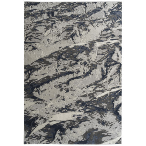 Global Altitude Ivory and Denim Rug