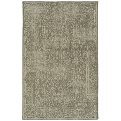 Knotted Earth Mocha and Cream 4 Ft. x 6 Ft. Area Rug