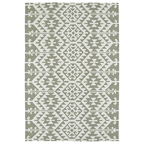 Habitat Taupe Rectangular: 8 Ft. x 10 Ft.